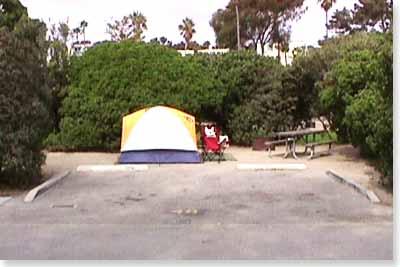 campsite #48 looking in
