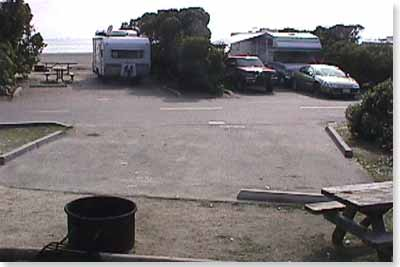 campsite #71 looking out
