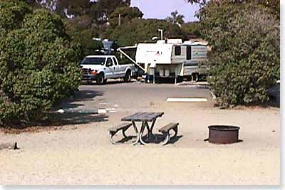 campsite #72 looking out