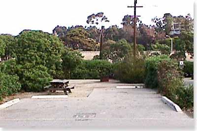 campsite #112 looking in